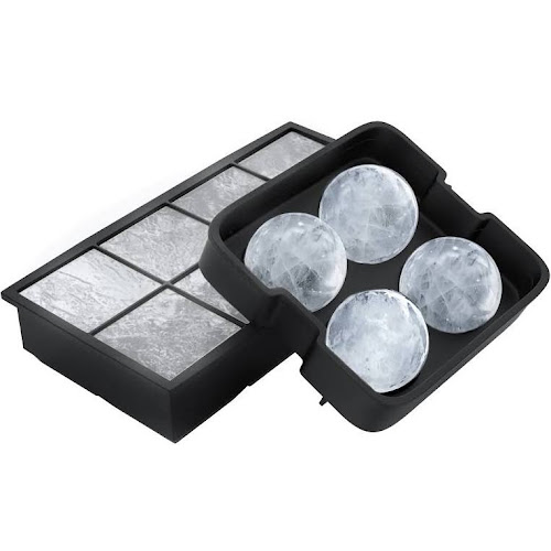 Ice Cube Tray Silicone Slow Melting Ball Mold For Whiskey Square