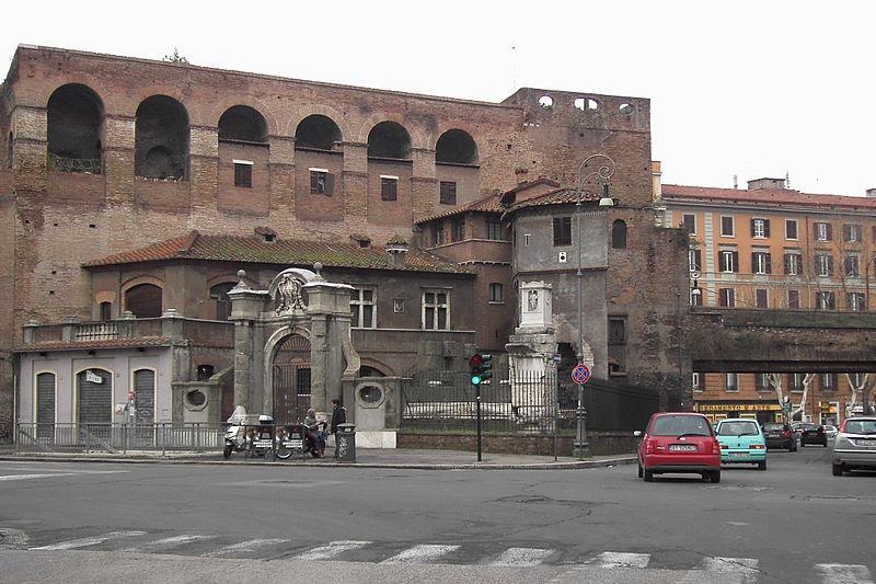 File:Ludovisi - mura e area sepolcrale a piazza Fiume 1865.JPG