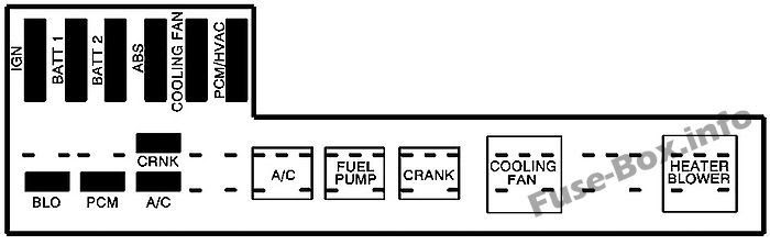 2003 Chevy Cavalier Fuse Box | schematic and wiring diagram