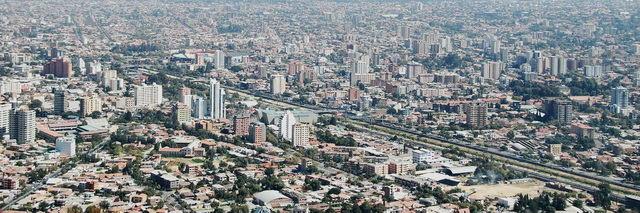 Ville de Cochabamba en Bolivie