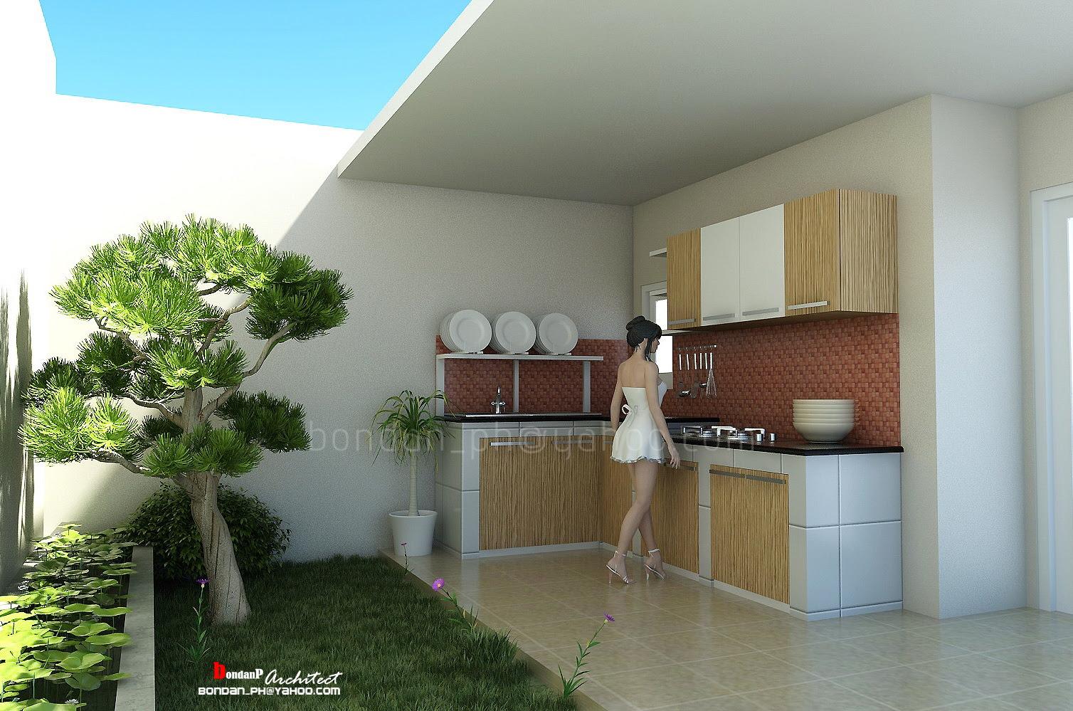 67 Desain Rumah Minimalis Memanjang Ke Belakang Desain