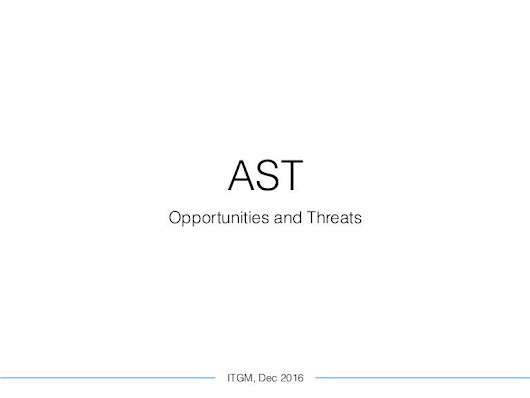 AST: threats and opportunities