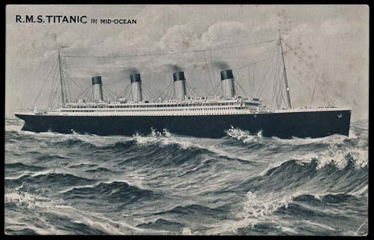 News Article: 'Wish you were here' postcard sent from the doomed Titanic comes up at Warwick auction