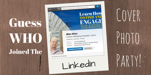 Learning LinkedIn — LinkedIn Launches Cover Photos for Premium...