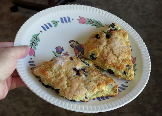 Blueberry Scones Vintage Syracuse China