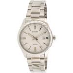 Casio Men's Enticer MTP1302D-7A1V White Stainless-Steel Quartz Dress Watch
