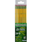 Ticonderoga HB No. 2 Pencils, Yellow - 24 pack