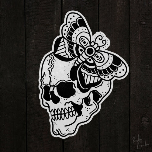 Traditional Flash Skull Tattoos: Pictures And Designs