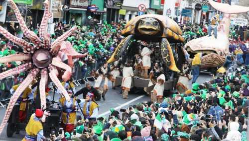 Saint Patrick's Day Parade, Dublin