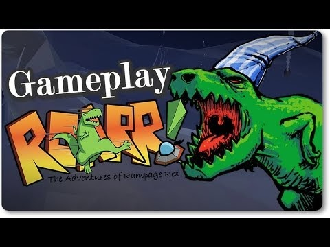 Roarr! The Adventures of Rampage Rex Review | Gameplay