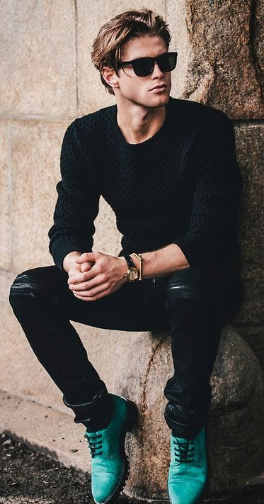 all black outfits men15 all black dressing ideas for guys