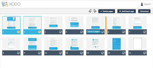 Introducing the new Xodo web app: merge files, organize pages, and more!