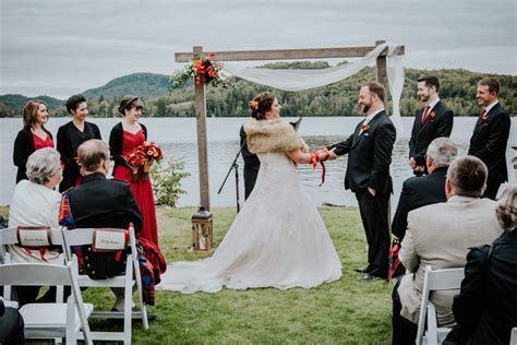 Le Grand Lodge Mont Tremblant wedding   Catherine Dumontet