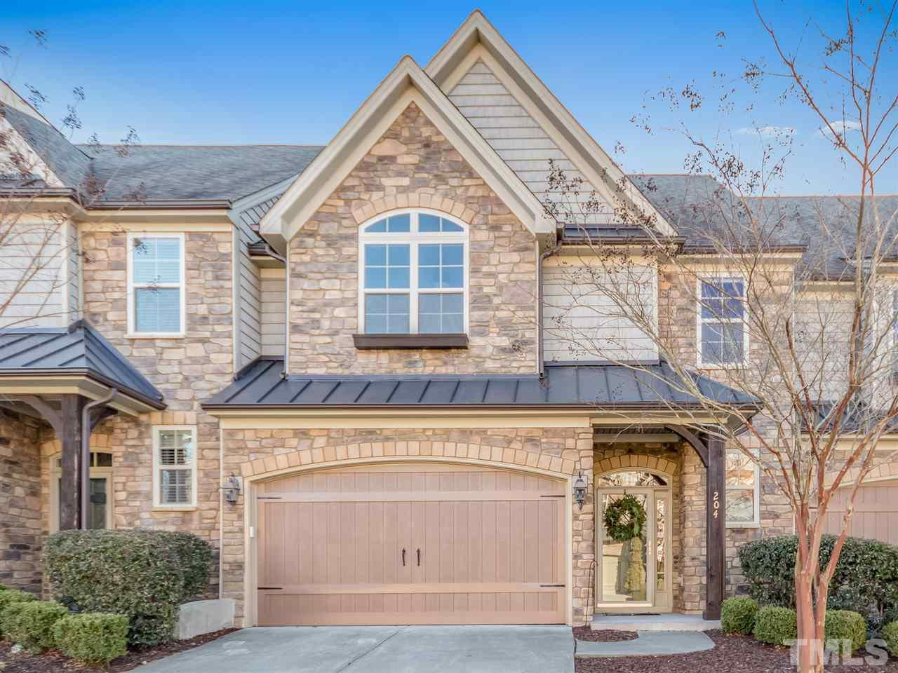 Stone Creek Village Townhomes for sale Cary NC via CaryRealEstate.com