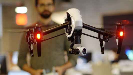 The DJI Inspire One is the coolest drone I've ever seen