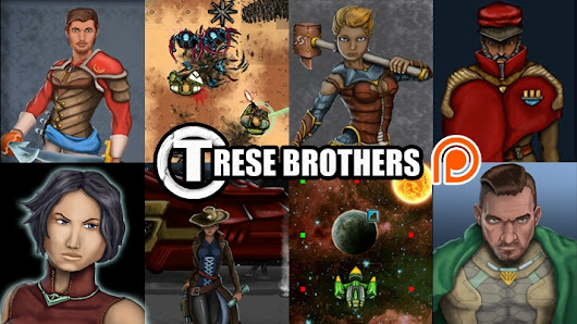 Support Trese Brothers creating Video Games and Fiction