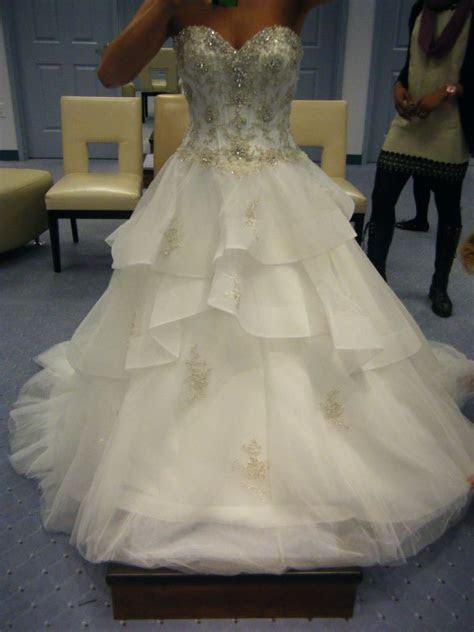 Alfred Angelo Disney belle dress 217   wedding attire