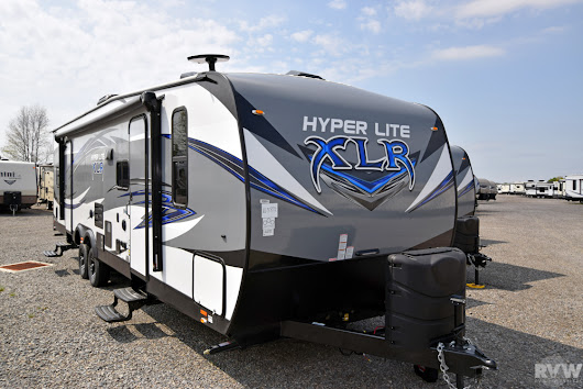 New 2018 XLR Hyper Lite 29HFS Toy Hauler Travel Trailer by Forest River at RVWholesalers.com