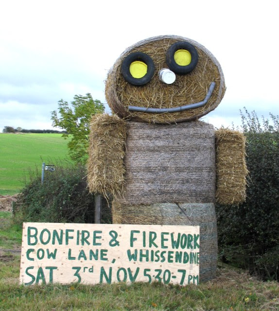 Straw man (or lady^) - geograph.org.uk - 676887