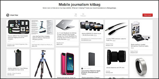 What's on my mobile journalism wish list?