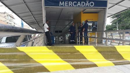 A estação do Mercadão de Madureira