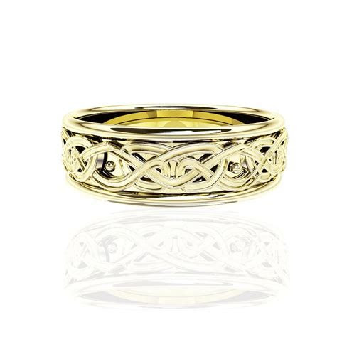 EDINBURGH FOREVER CELTIC KNOT WORK WEDDING RING ? Tappit