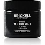 Brickell Men's Revitalizing Anti Aging Cream For Men - 2 oz tub