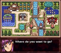 Tenchi Muyo! RPG - första kartan