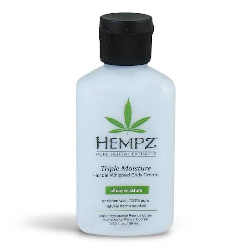 Hempz Triple Moisture Herbal Whipped Body Creme - 2.25 fl oz bottle
