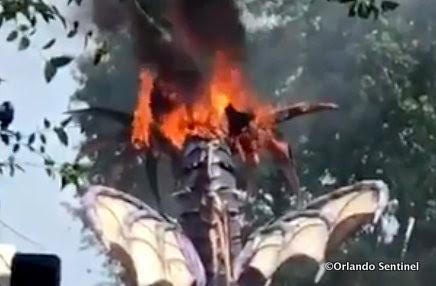 Maleficent Dragon Float ©Orlando Sentinel