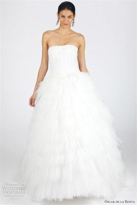 Oscar de la Renta Bridal Fall 2013 Wedding Dresses