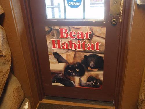 door to bear habitat