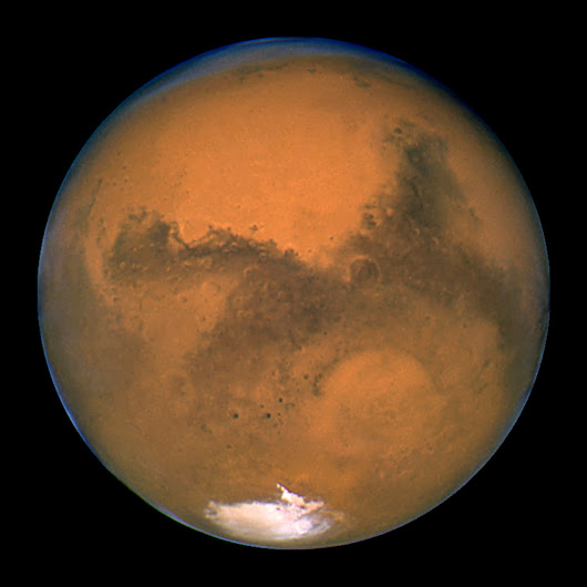Mars may have been carved up by ancient tsunamis