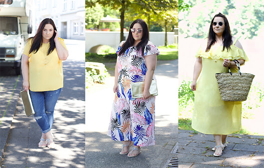 Sommerkurztrip mit New Look Curves - DRESSITCURVY - PLUS SIZE FASHION BLOG