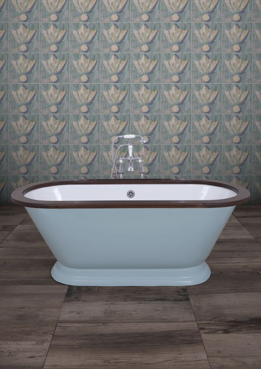 Our brand new bath! The stunning Montpellier, which features an impressive depth as well as a charming shape and curves. Available in any paint col… | Pinterest
