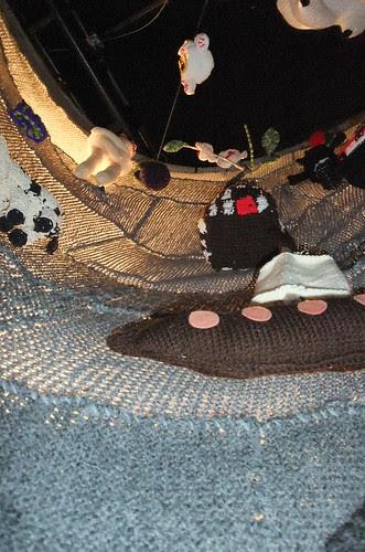 inside the knit tornado