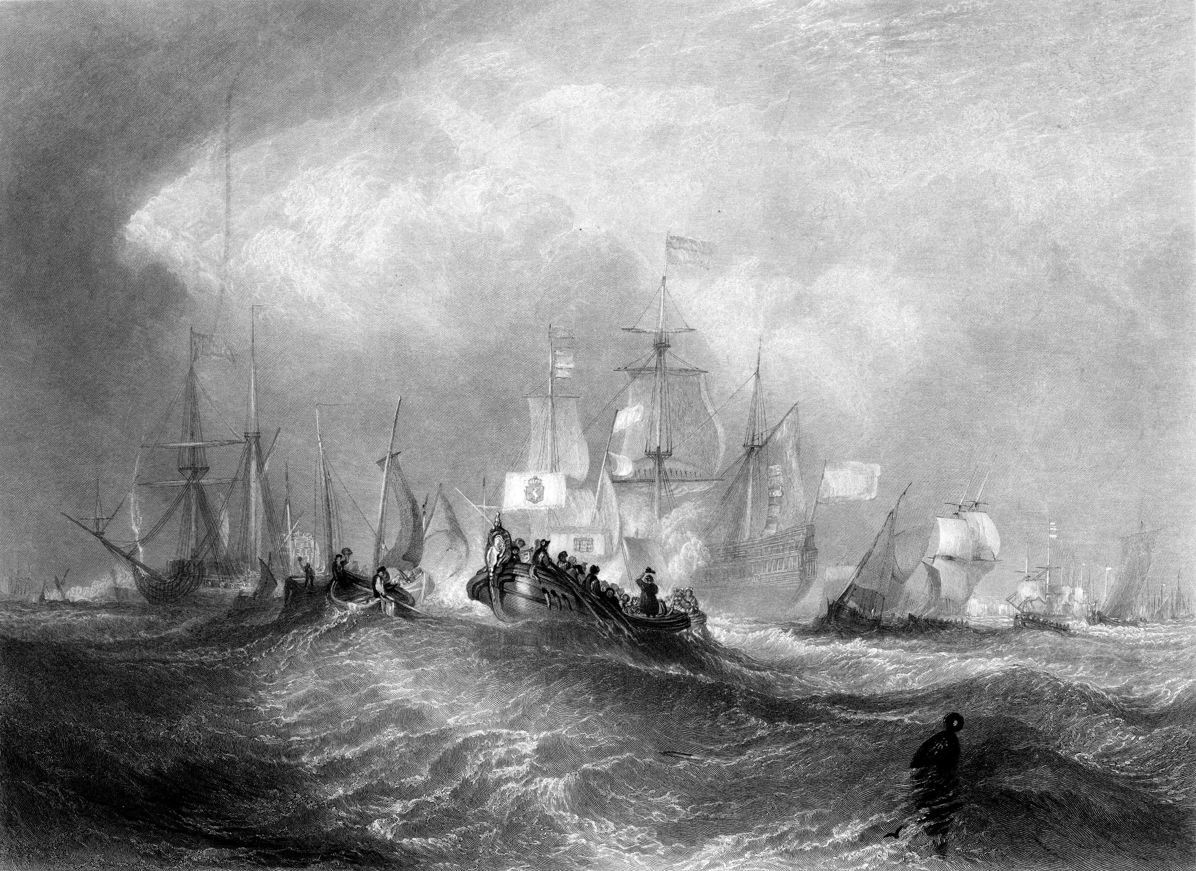 William Miller: Prince of Orange Landing at Torbay
