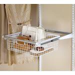 Rubbermaid Configurations Sliding Basket White