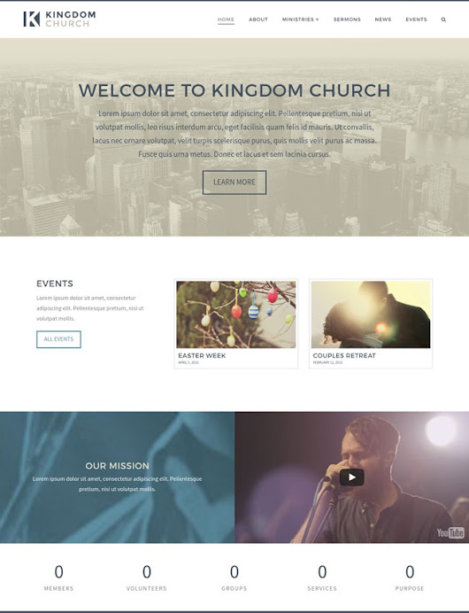 25+ Best Church Wordpress Themes for Churches, Parishes and Religious 2016