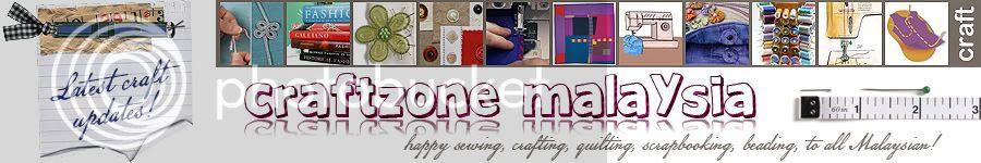 CraftZone Malaysia - Malaysian Crafter Blogs