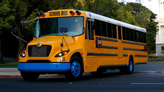 Blue Bird, Lion Bus have big plans for electric school buses