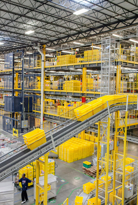 Inside Amazon's Shipping Machine | MIT Technology Review