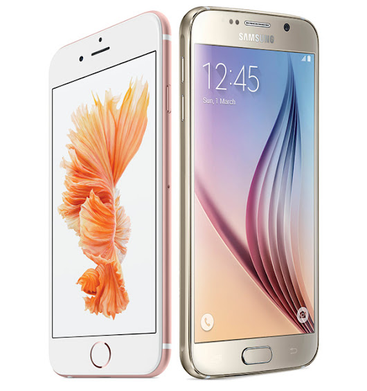Comparing The Apple iPhone 6s And Samsung Galaxy s6 |