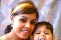 Garolin with child