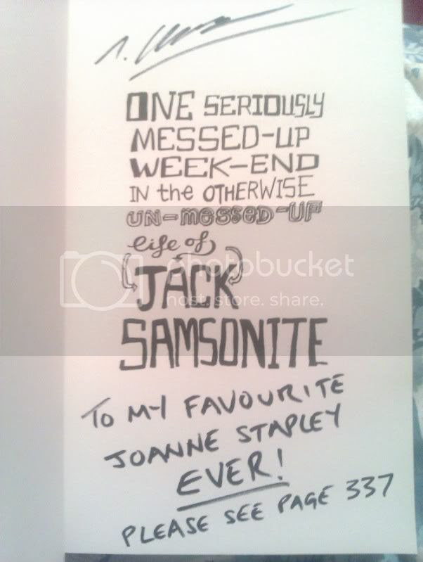One Seriously Messed-Up Weekend In the Otherwise Un-Messed-Up Life of Jack Samsonite by Tom Clempson