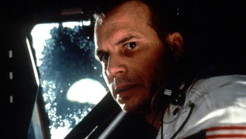 Bill Paxton as NASA astronaut Fred Haise in the 1995 Oscar-nominated film APOLLO 13.