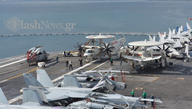 Οι Έλληνες του USS George Bush (Φωτό - Βίντεο) - Φωτογραφία 7