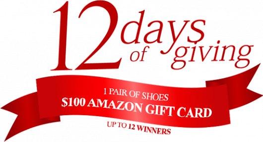 2017 Dream Pair Shoes 12 Days Giveaway