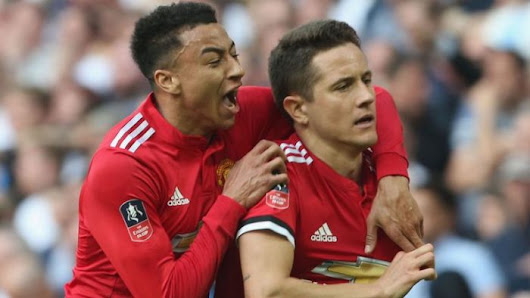 Sanchez Scores As Man United Beat Tottenham 2 – 1 To Qualify For FA Cup Final | Pyradic.com