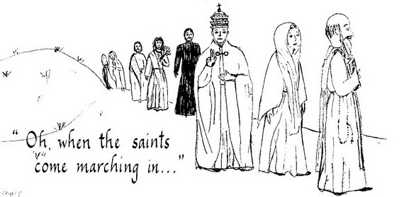 Catholic Saints and All Saint\u002639;s Day Coloring Pages